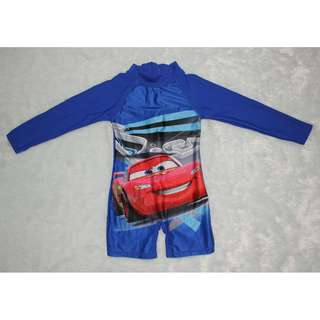 Cars Overall Rashguard for kids