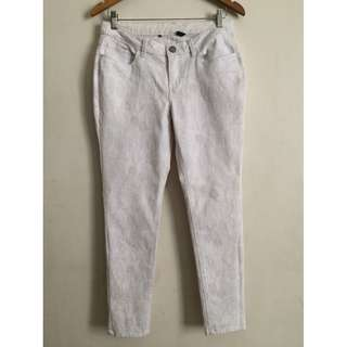 ForMe Floral Pants (white)