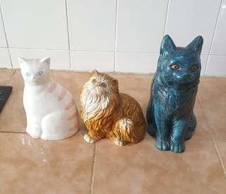 adorable cat statues 3