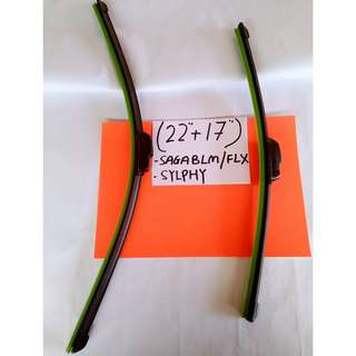 "Soft advantage Wiper more stylish (22""+17"") saga blm~flx /sylphy"