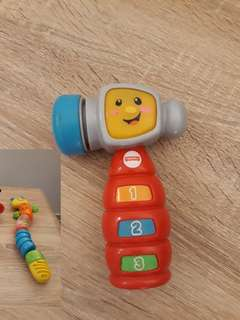 Mainan bayi anak fisher price elc vtech leapfrog