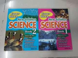 Science Upper Block Book 1 & 2