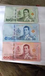 New Thai king Baht