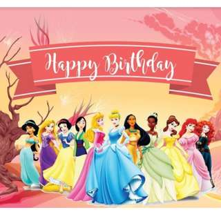 BIRTHDAY PARTY BANNER ( print your own design )