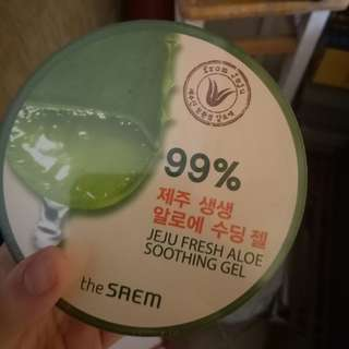 THE SAEM ALOEVERA GEL