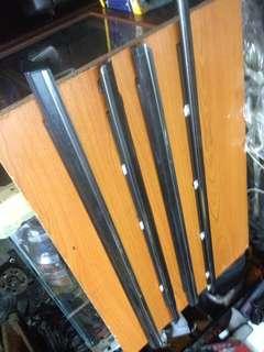 short moulding pintu nissan bluebird u13