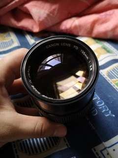 Canon FD 135mm f2.8