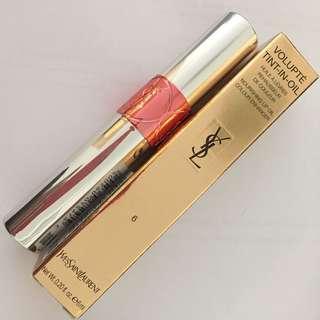 Ysl volupte Tint In Oil 唇蜜 唇彩 唇膏 lip gloss (專櫃零售價:$290)