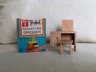 Wooden Miniature dresser
