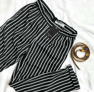 Stripe Pants Zara New