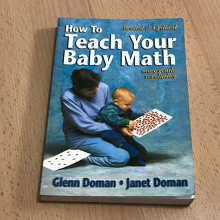 Glenn Doman How to Teach Your Baby Math Book