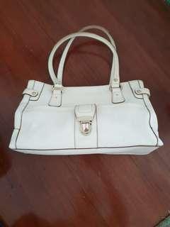 Liz Claiborne White Bag