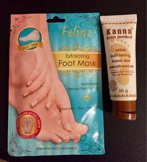 Felinz foot mask + kanna