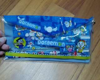 Clearance! Buy 2 get 1 Free - Doreamon 9in1 Pencil Set