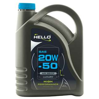 HELLO SAE 20W-50 API SG/CF MINERAL ENGINE OIL