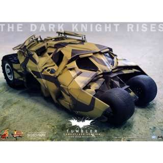 Hot Toys The Dark Knight Rises - Tumbler (Camouflage Version) 1/6th scale Collectible Vehicle