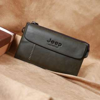 JEEPS Korean mens wallet PU leather #9902