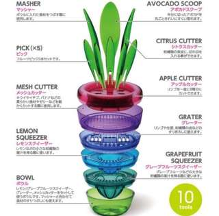 Fruits plant - cut, squeeze and more tools