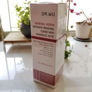 Dr Wu 杏仁酸煥膚亮白化妝水 (特別適合暗瘡及毛孔粗大皮膚)