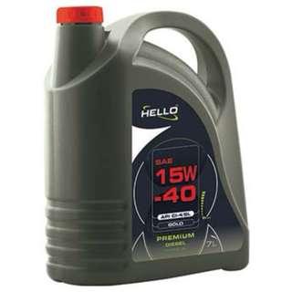 HELLO SAE 15W-40 API CI-4/SL PREMIUM DIESEL ENGINE OIL