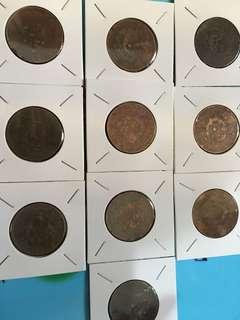 平賣 10枚銅幣