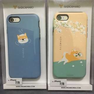 Shiro&Maro 韓國柴犬 iPhone Case