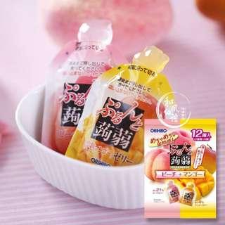 日本ORIHIRO低卡蒟蒻果凍