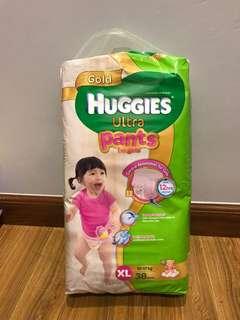 Huggies Ultra Pants for Girls XL