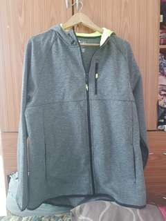 REPRICED! Gray Unisex Hooded Jacket (Available in M&L)