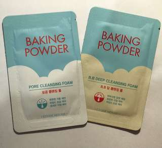 Etude house - baking powder cleansing foam