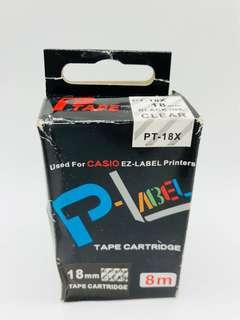 Casio Ez-Label Printer Tape Cartridge Refill Free Postage!