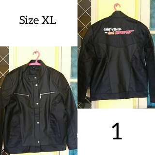 Jacket kulit honda adem