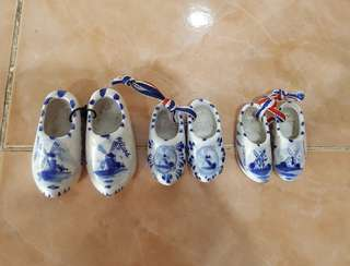 Holland collectible mini shoes