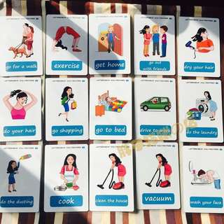 💝 🌈DAILY ROUTINES🌈FLASH CARDS(41PCS)