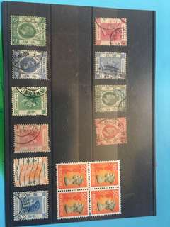 香港英女王舊郵票