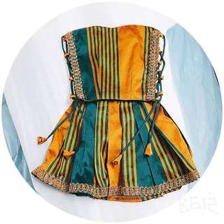 Baby Pavadai/ skirt blouse