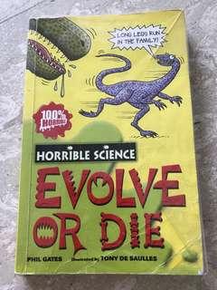 Horrible Science - Evolve or Die