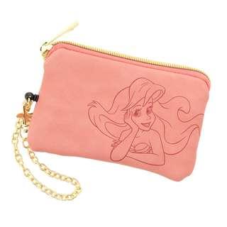 日本 Disney Store 直送 Legato Largo x The Little Mermaid 小魚仙 Ariel 可伸縮卡套 / 八達通套 / Card Holder 連銀包 / 散紙包