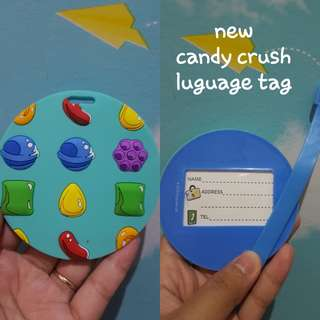 New candy crush luguage tag