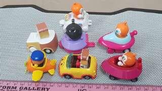 Anpanman mini vehicles