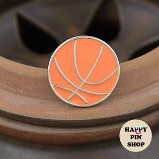 Basketball Enamel Pin (Sports Series)