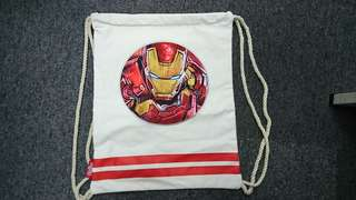 Iron men marvel avenger 背包 布袋