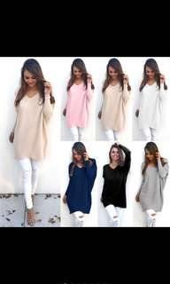 New Women Winter Long Sleeve Sweater jumper Top