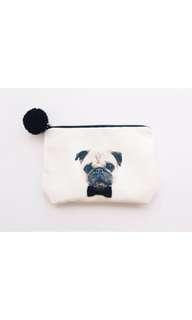 🚚 巴戈犬 狗狗 可愛風格 收納 多用途 設計感收納包 化妝包 小包 雜物袋