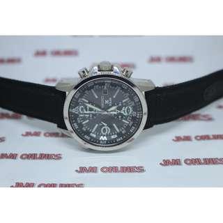 Seiko SSC293P2 Prospex Solar Chronograph Jam Pria SSC293 Black Nylon