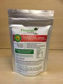 Organic Concentrated Liquid Plant Nutrients and Fertilizer