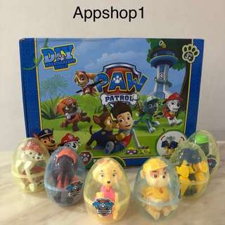 Paw patrol surprise egg- goodies bag, goody bag gift