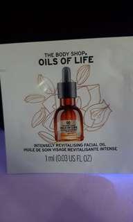 The body shop facial oil
