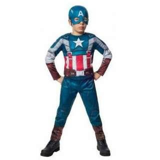 Rubie's Captain America 2 Winter Soldier Retro Costume