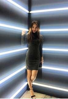 H&M Divided Turtleneck Dress